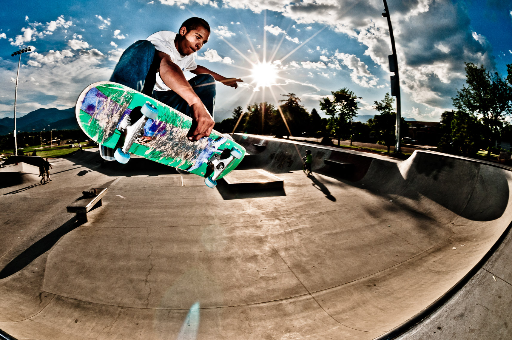 JFennell Skateboard Sports Photos