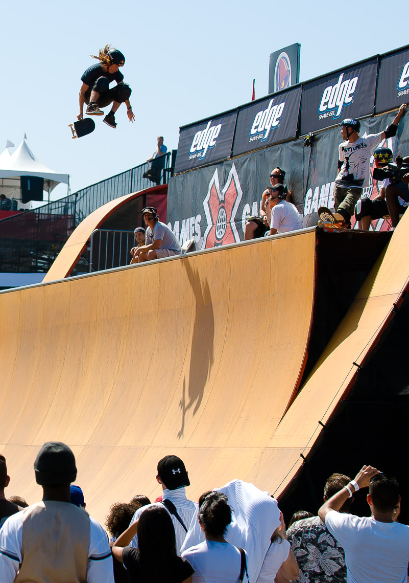 XGames Skateboard Action Sports Photos