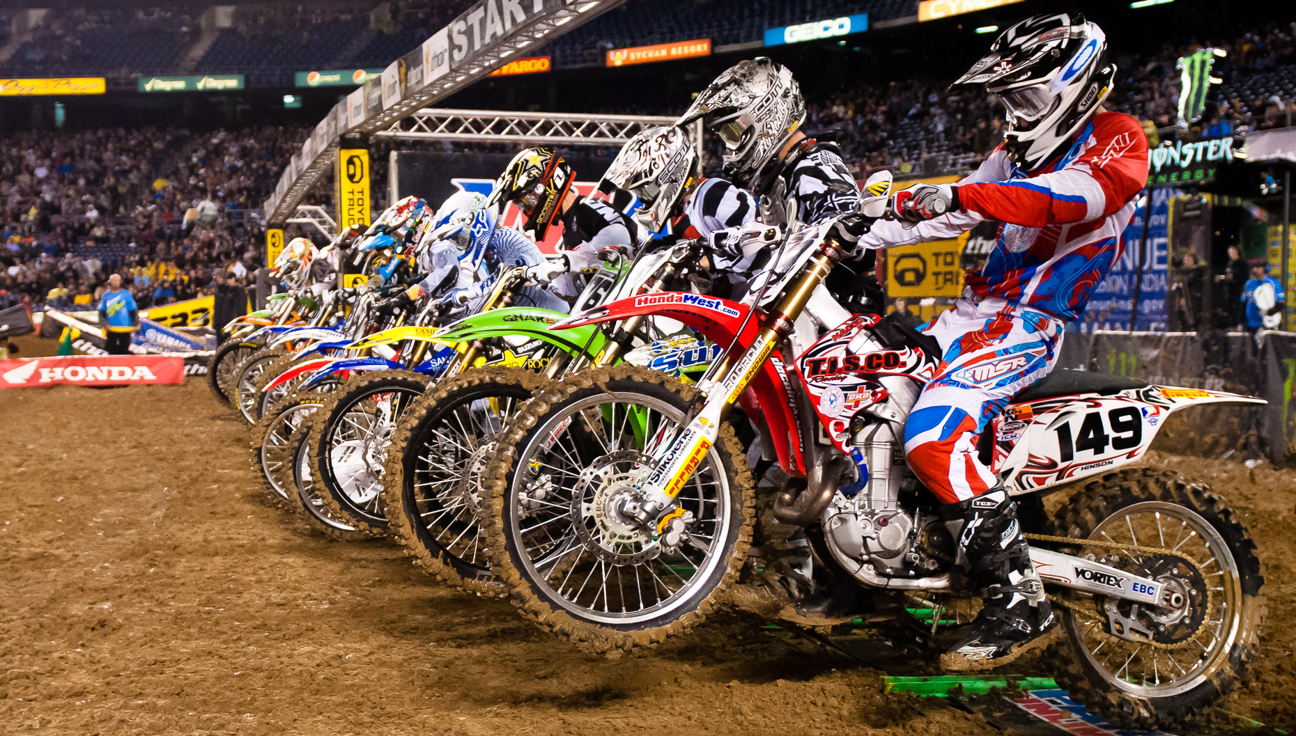 Supercross Action Sports Photos